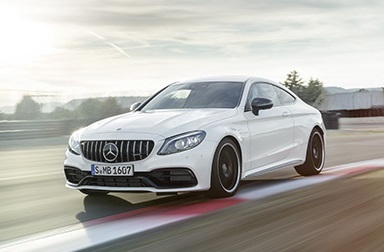 The Mercedes-Benz C63 Coupe.  (Mercedes-Benz Photo)