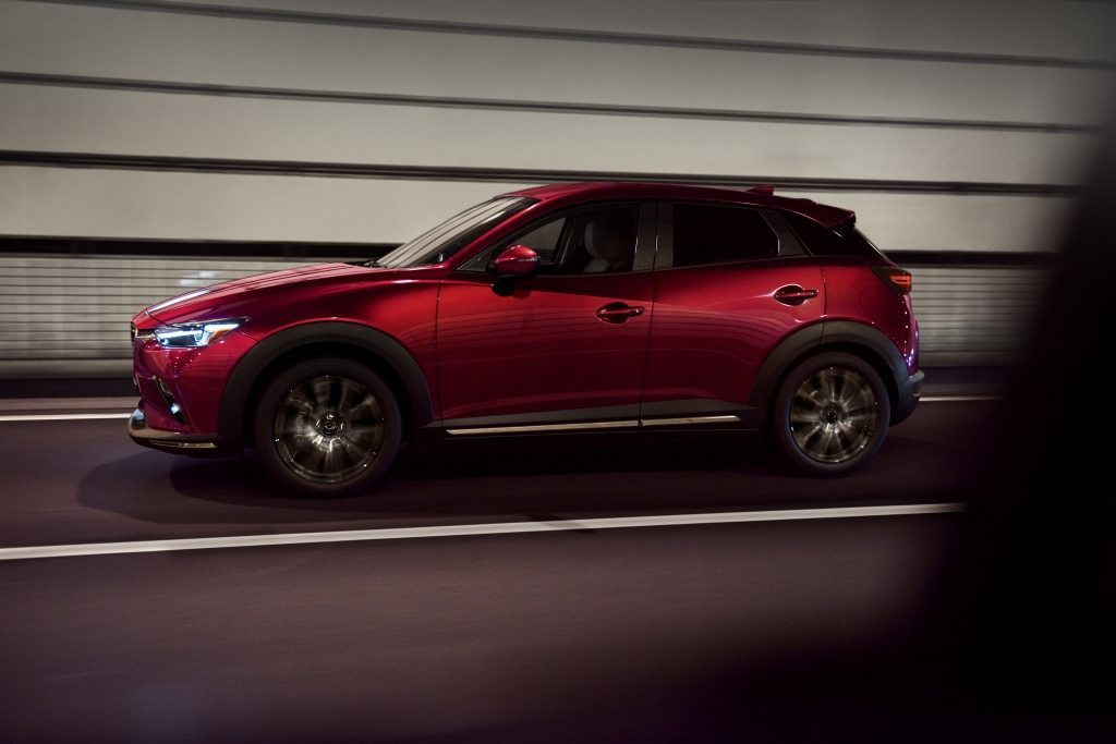 The 23019 Mazda CX-3.  (Mazda Photo)