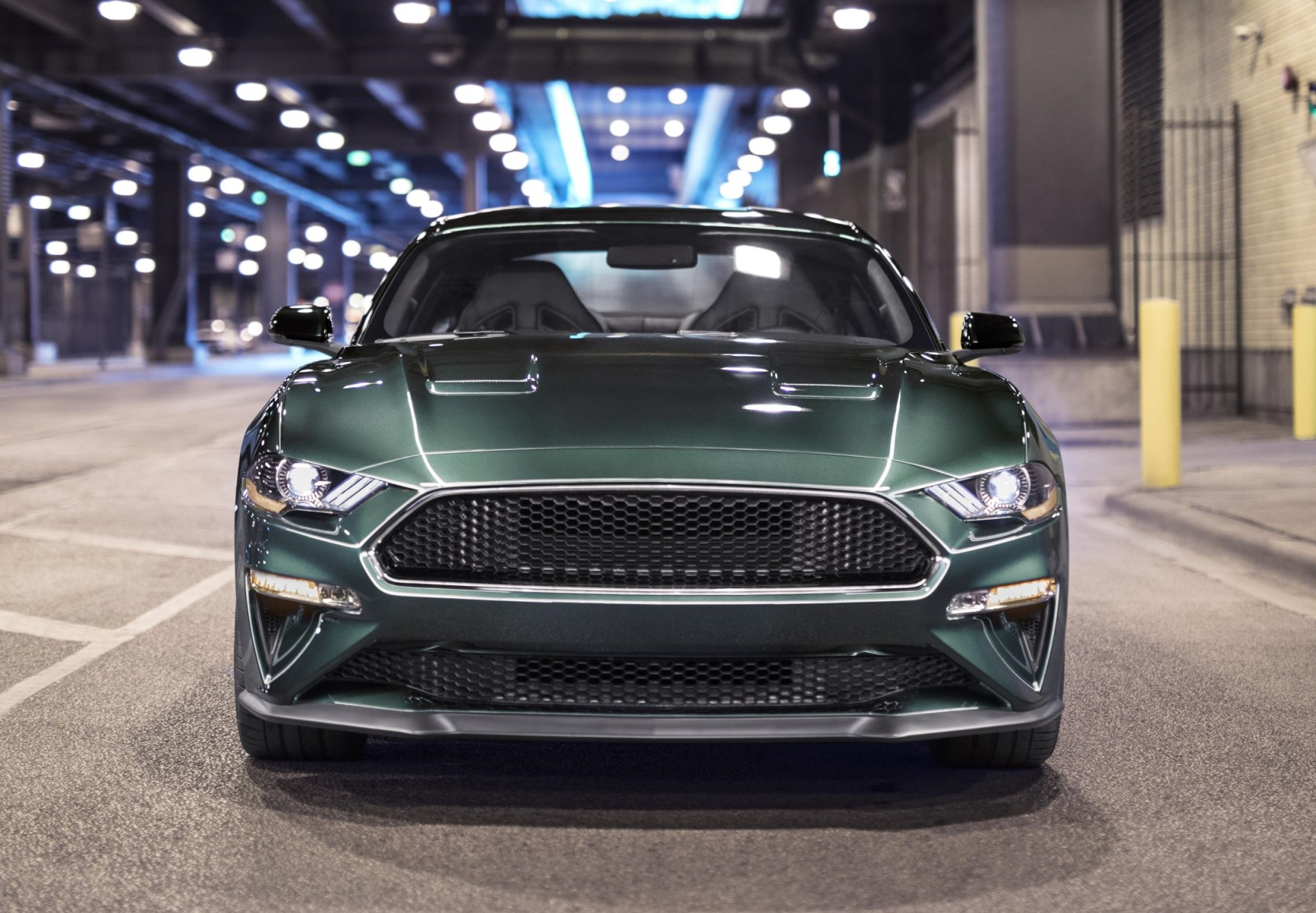 The new Ford Mustang Bullitt.  (FoMoCo Photo)