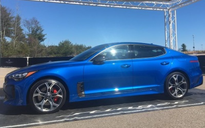 The 2018 Kia Stinger GT  (Kia Photo)