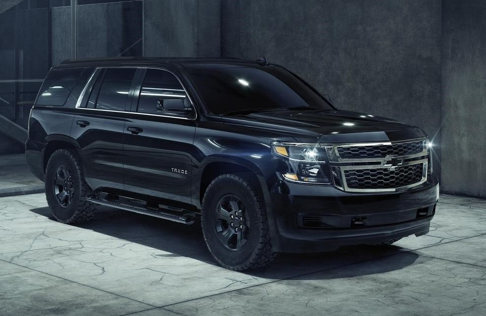The 2018 Chevrolet Tahoe Midnight Edition.  (GM Photo)