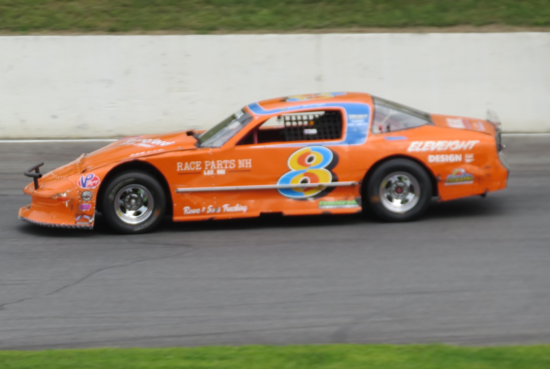 Connor McDougal's #8 Camaro.  (Mike Twist Photo)