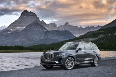 The 2019 BMW X7  (BMW Photo)