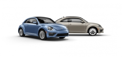 The VW Beetle Final Editions.  (VW Photos)