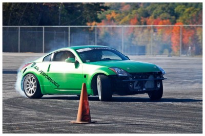 Want to learn to drift?  (Team O'Neil Photo)