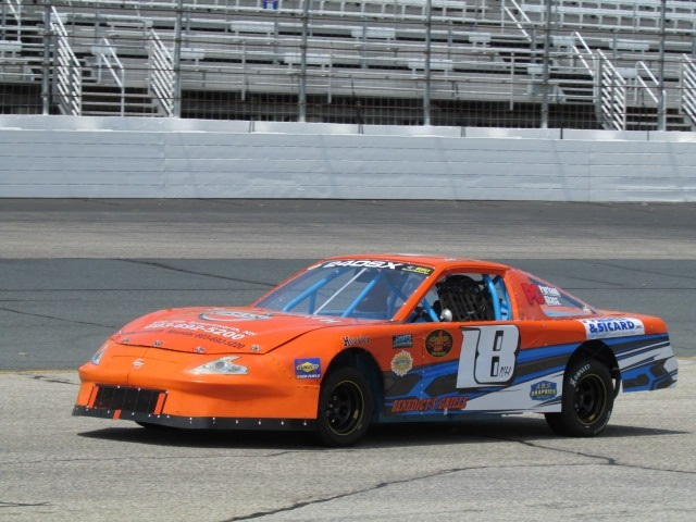 Jake Rheaume (#18) is one of the entrants for the Richmond NEMST event.  (Mike Twist Photo)