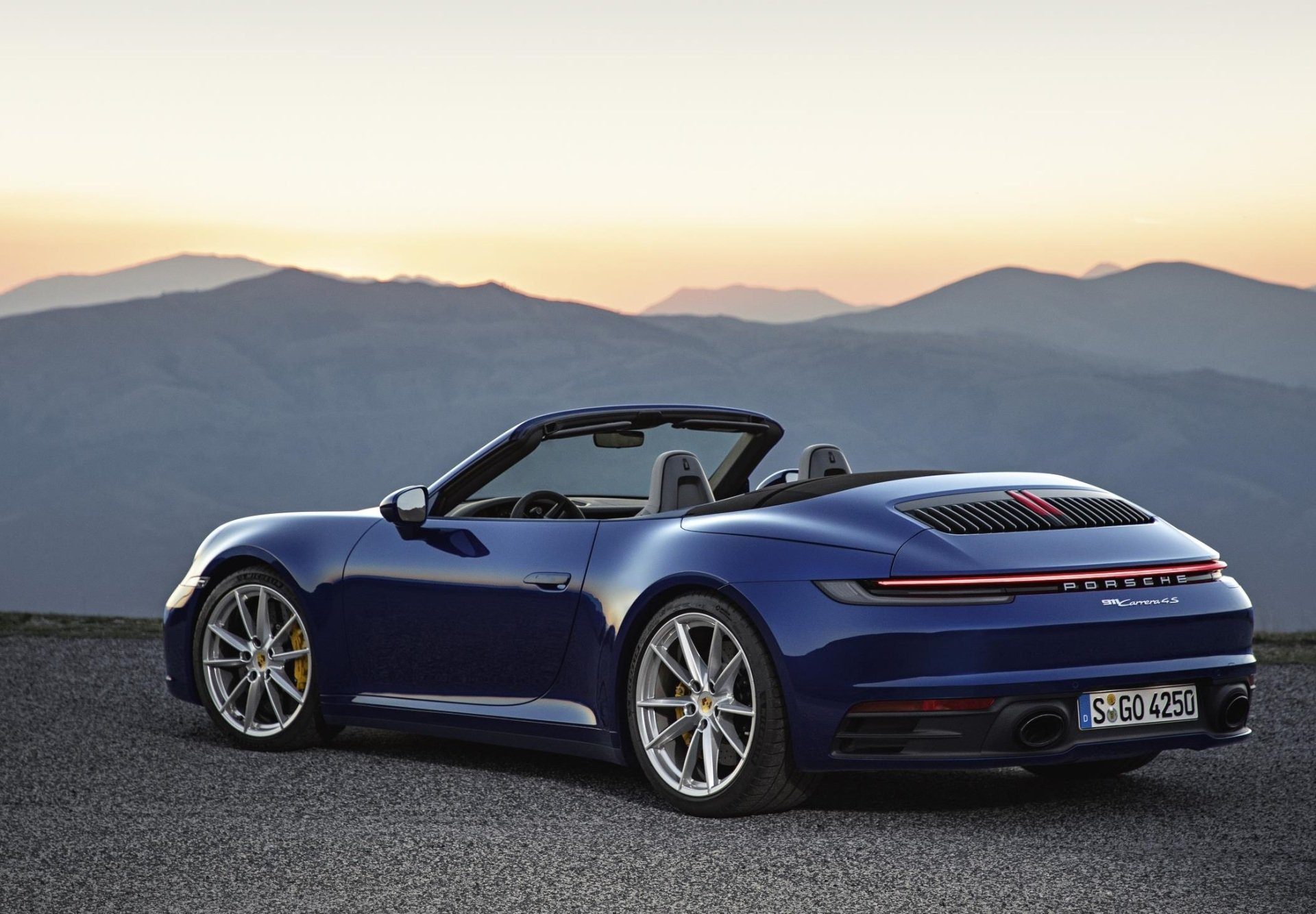 The 2020 Porsche 911 Cabriolet (Porsche N.A. Photo)