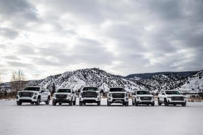 The GMC AT4 Lineup.  (GMC Photo)